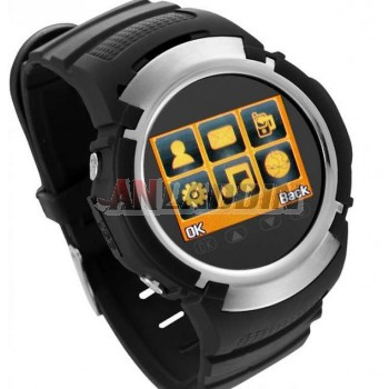 Quad Band Touch Screen Watch Cell Phone with Bluetooth