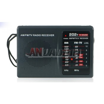 R-202T portable FM / AM radio