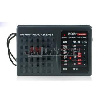 R-202T portable FM / AM radio