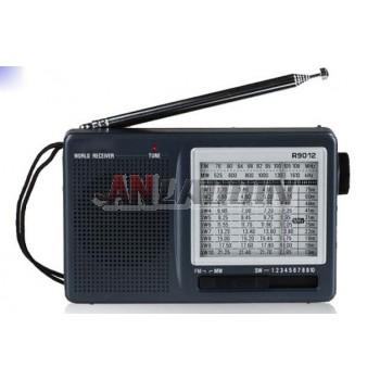 R-9012 full-band FM shortwave radio