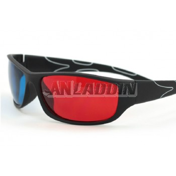 Red and blue 3D glasses / TV PC