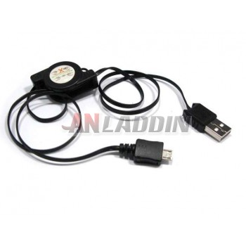 Retractable data cable / Micro USB charging cable