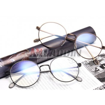 Retro round reading glasses frames