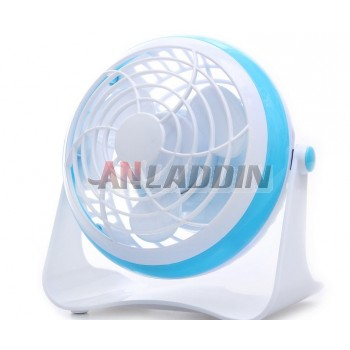 Rotatable USB fan / battery or USB powered