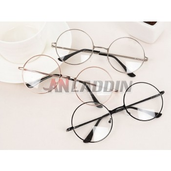 Round classic prescription glasses frames