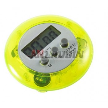 Round electronic timer