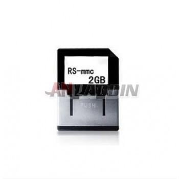 RS-mmc 2GB Memory Card
