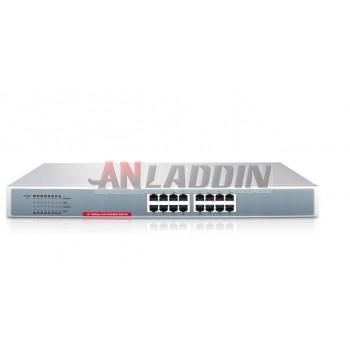 S116 16 port network switch / steel rack network switch / hub