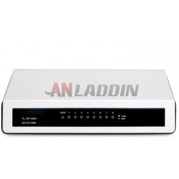 SF1008 + 100M high-speed transmission 8-port network switch