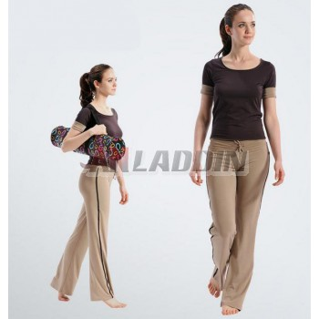 Short-sleeved dancing yoga clothes suit