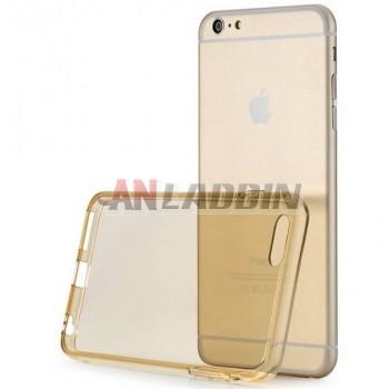 Silicone transparent case for iphone 6 plus