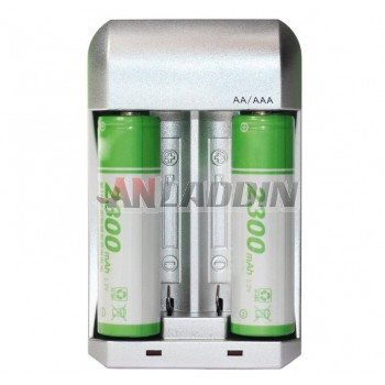 Smart Charger +2300 MAH AA rechargeable battery