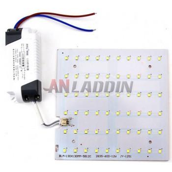 Square 12-18W 2835 SMD LED light panel