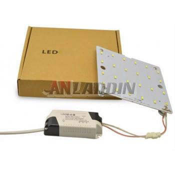 Square 12-24W 5730 SMD LED lights panel