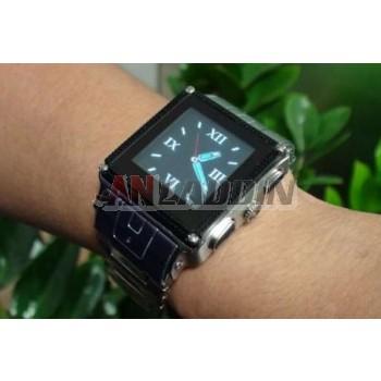 Steel strap waterproof watch cell phone