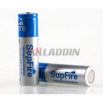 SupFire 3.7V rechargeable18650 lithium battery