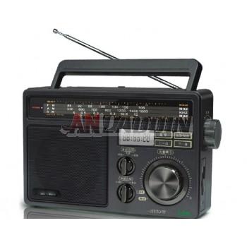 T09 Radio full band / FM / MW / SW portable card speaker
