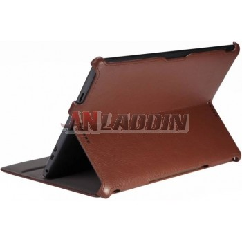 Tablet PC protective leather case for Asus T100 / T100TA