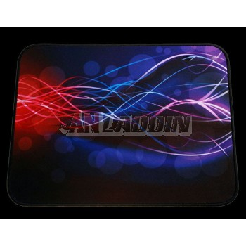Thickened lock side mouse pad
