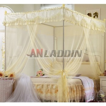 Three-doors multi-standard stainless steel rectangular mosquito net