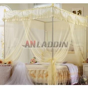 Three-doors multi-standard stainless steel rectangular mosquito net
