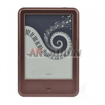 Touch-ink screen ebook reader with wifi