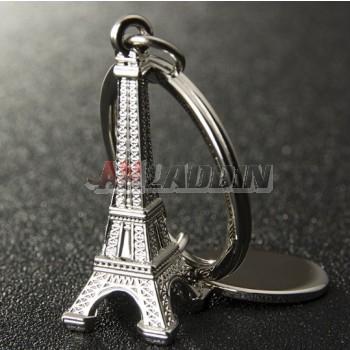 Tower Zinc alloy keychain