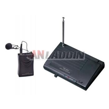 TS-331B Wireless Lavalier microphone / VHF Wireless Microphone