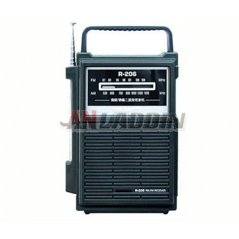 R-206 FM / AM two band radio
