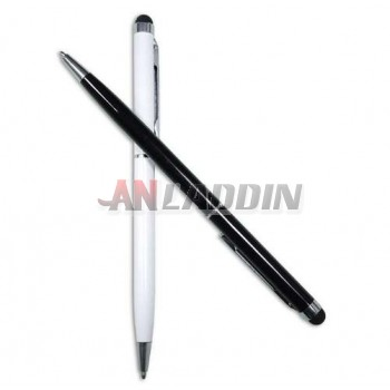 Two purposes capacitive touch pen