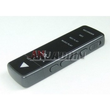 U-shaped digital voice recorder / one button recording