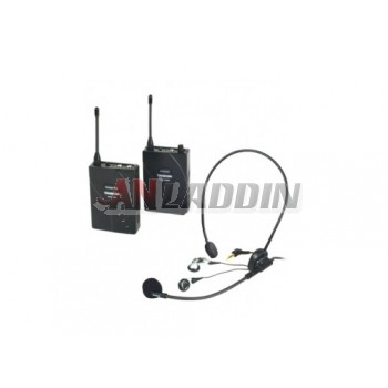 UHF-938 wireless tour guide system / multimedia wireless MIC