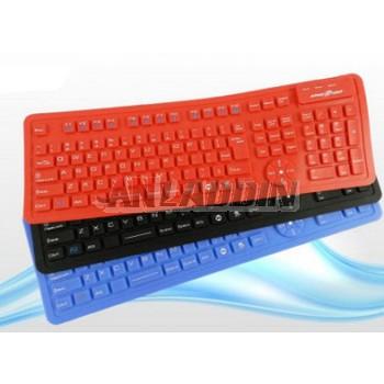 ultrathin waterproof foldable soft keyboard