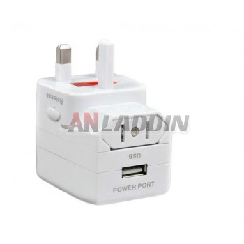 Universal International Universal Plug Adapter / Travel Adaptor