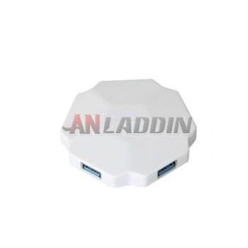 usb 3.0 hub / 4 port usb splitter with power supply