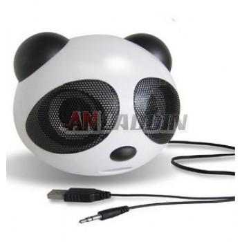 Mini Speaker / USB computer speaker / Panda Speaker