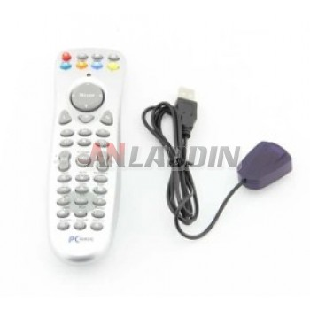 USB Infrared PC remote control with wireless mouse function