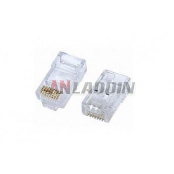 UTP crystal head RJ45 / Network 8P8C Crystal Head