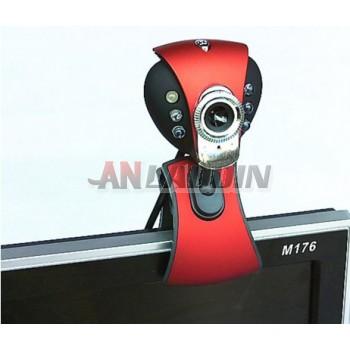V6 Usb 5MP HD Webcam PC Camera with Microphone