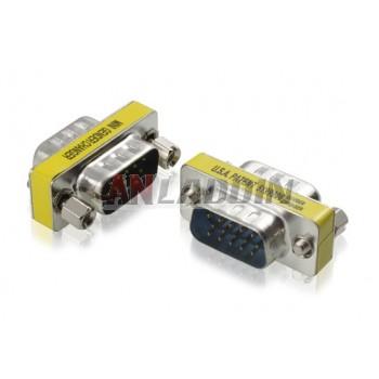 VGA15 pin adapter / VGA male to male adapter