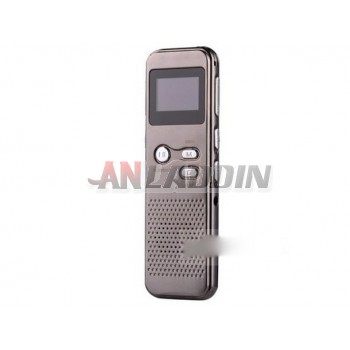 Voice and video dual-use digital voice recorder