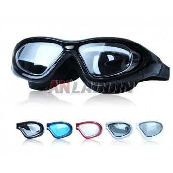Waterproof anti-fog diving swimming glasses