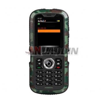 Waterproof drop resistance mobile phone / Dual SIM