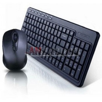 Waterproof wireless gaming keyboard and mouse set