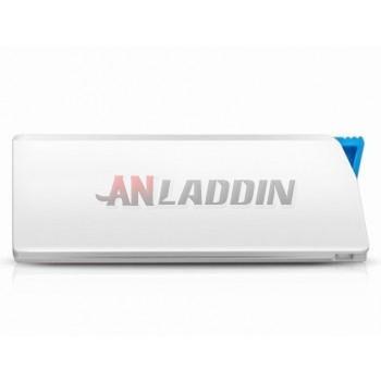 White USB flash drive