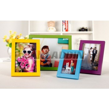 "Wooden 5 ""to 16"" minimalist photo frame"