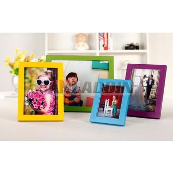 "Wooden 5 ""to 16"" minimalist photo frame"