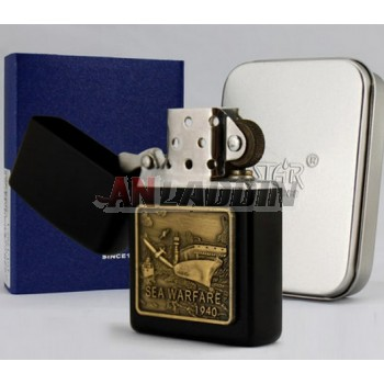 World War II memorial edition copper oil lighter