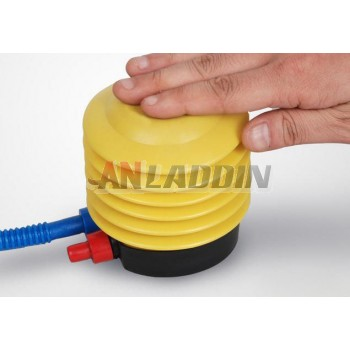 Yoga ball pedal inflatable pump