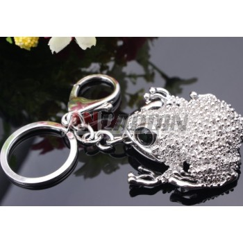 Zinc Alloy Toad keychain